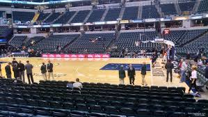 Bankers Life Fieldhouse Section 15 Indiana Pacers