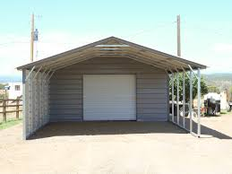 utility carports colorado steel buildings metal garage