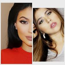 kylie jenner red dress makeup tutorial for eid you