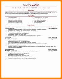 7 Server Resume Skills Letter Signature