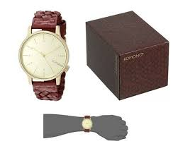 Купить <b>Komono</b> Unisex <b>Winston Woven</b> Quality Leather <b>Watch</b> ...