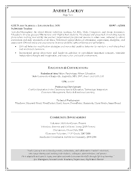 Good Resume Objectives For Barista