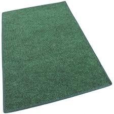 green indoor outdoor olefin carpet area rug image