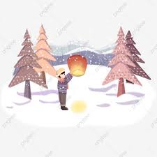 Christmas Scenes Free Downloads Snowing Winter Winter Lovely Christmas Scenes Cold Png