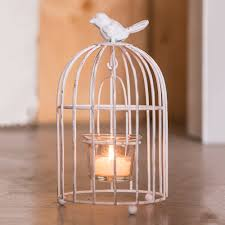 Tea Light Birdcage Small Metal Birdcage With Suspended Tealight Holder