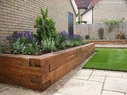 17 fascinating wooden garden edging