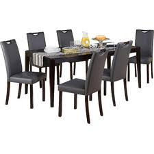 seven piece dining set: tilo  piece dining set tilopiecediningset tilo  piece dining set