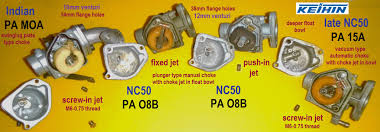 keihin carburetors  myrons mopeds