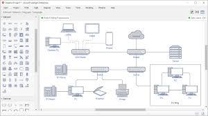 Visual Chart Maker Network Diagram Software