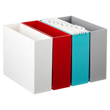office file boxes. Poppin Hanging File Box Three Of These Will Fit In A Cube My With Regard To Office Boxes N