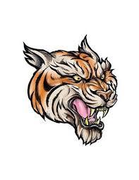Tygr Nalepovací Tetování