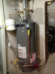 rheem 75 gallon water heater. new 75 gallon water heater (with expansion tank) installed! rheem y