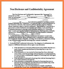 Secrecy Agreement Images - Agreement Letter Format