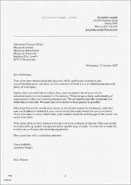 16 Elegant Sample Of Resume Cover Letter Images