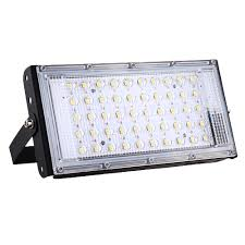 50w Led Security Light 50w 50 Led Flood Light Dc12v 3800lm Waterproof Ip65 For Outdoor Camping Travel Emergency