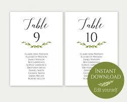 Editable Seating Chart Wedding Wedding Seating Chart Template Seating Cards Seating Chart