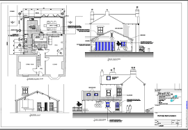example house extension building plans 11448