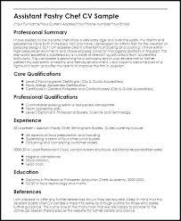 Resume Sample For Chef Resume Samples For Chefs Resume Templates For