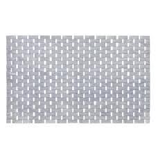 kleine wolke window wood bath mat 500 x 800mm brown 5053