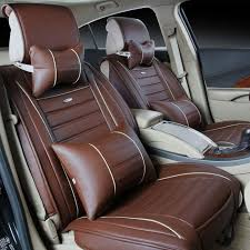 the new leather car seat linen cushions supplies automotive custom leather seat