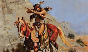 indian with bow hits mark a charles m rus painting received a surprising appraisal for the owners