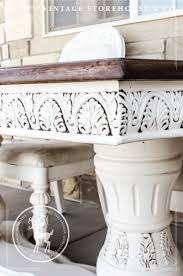 tutorial how to glaze painted furniture the vine house pany
