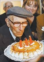 Image result for pics of old person celebrating birthdays