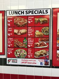 photo of jet s pizza austin tx united states lunch specials