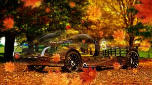 morgan aeromax retro crystal nature autumn car