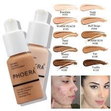 foundation base matte liquid makeup concealer full coverage long lasting face cream whitening brighten contour primer