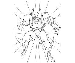 Small Picture Free wolverine coloring pages for kids ColoringStar