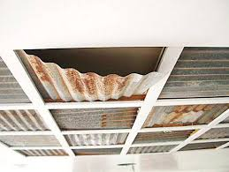 corrugated metal ceiling tiles corrugated tin ceiling there were some corrugated metal ceiling panels in the