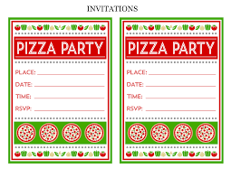 pizza party printables from printabelle catch my party the pizza printables here