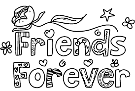 Friends Forever Coloring Book L Duilawyerlosangeles