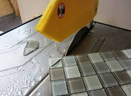 home depot tile saw rental. when using glass tiles, it is always best practice to use gloves and eye wear prevent the flying cut tiles from injuring you. i used a qep wet tile saw home depot rental