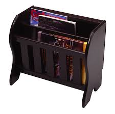 newspaper rack for office. Amazon.com: Winsome Wood Magazine Rack With Drop Leaf Table, Dark Espresso Finish: Home \u0026 Kitchen Newspaper For Office