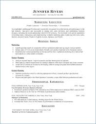 example of good cv layout good cv format resume example