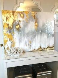 silver wall art decor silver wall art decor fresh sold acrylic abstract art large canvas painting gray silver gold