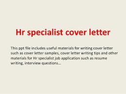 Entry Level Hr Specialist Cover Letter Lezincdc Com