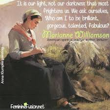 Marianne Williamson Quotes Gorgeous Marianne Williamson Quote Light Awesome Quotes By Women