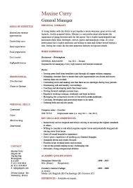 General Labor Resume General Resume Examples As Resume Profile