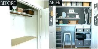 closet desk ideas small