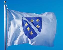 Zastava s ljiljanima na East Riveru - AUBHA - AUSTRALSKA UNIJA BH  ASOCIJACIJA