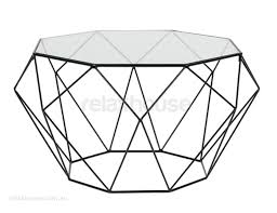 wire coffee table. Glass Wire Coffee Table