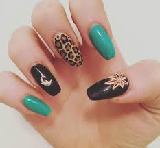 Dazzling Weed Nail Design Weed Nail Art Ideas Design Trends ...