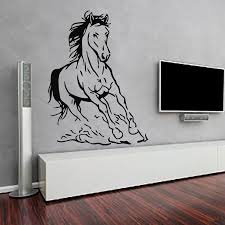 Small Picture Aliexpresscom Buy New Design Horse Wall Sticker Living Room