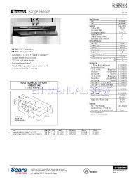 Hood Range Installation Installation Guide For Range Hood Kenmore 30 Convertible Range