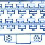 jeep cherokee headlight wiring diagram pertaining to 1995 jeep 1995 Jeep Grand Cherokee Limited Fuse Box Diagram jeep grand cherokee zj 4wd 1996 fuse box block circuit breaker pertaining to 1995 jeep 1995 jeep grand cherokee laredo fuse box diagram