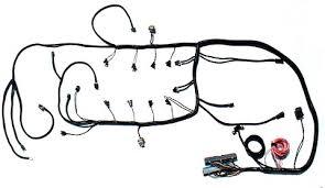 corvette wiring harness ls1 ls2 engine management custom wiring harness ls1004 by ls1 ls2 engine management custom wiring harness