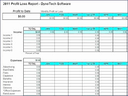 Profit And Loss Template For Self Employed Profit And Loss Template Pdf Beautiful Earnings Statement Template